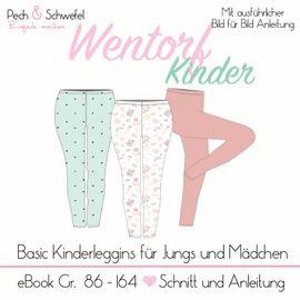 Foto zu Schnittmuster Basic Leggings Wentorf - Kinder von Pech & Schwefel