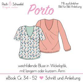 Foto zu Schnittmuster Bluse Porto von Pech & Schwefel