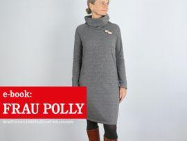 Produktfoto zu Kombi Ebook FRAU POLLY & POLLY Rollkragenkleider im Partnerlook von Anja // STUDIO SCHNITTREIF