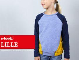 Produktfoto zu Kombi Ebook FRAU LILLE & LILLE Raglansweater im Partnerlook von Anja // STUDIO SCHNITTREIF
