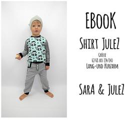 Foto zu Schnittmuster Lang-/Kurzarmshirt Julez von Sara & Julez