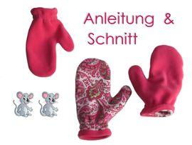 Foto zu Schnittmuster Handschuhe in 7 Größen von Lunicum