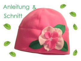Foto zu Schnittmuster Blüten-Mütze in 8 Größen von Lunicum