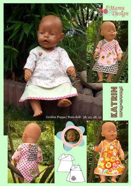 Foto zu Schnittmuster Katrin (für Puppen) von Mamu Design