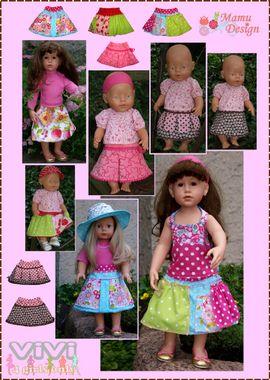 Foto zu Schnittmuster Vivi (für Puppen) von Mamu Design