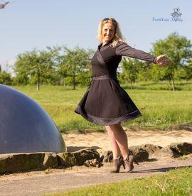 Foto zu Schnittmuster Jerseykleid Lillith for Ladies von Zwergnase-Design