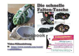 Foto zu Schnittmuster Faltentasche von Firstlounge Berlin