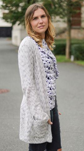 Foto zu Schnittmuster Cardigan Lani Damen von textilsucht