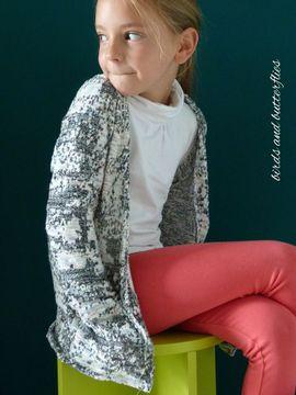 Foto zu Schnittmuster Cardigan Lani Kinder von textilsucht