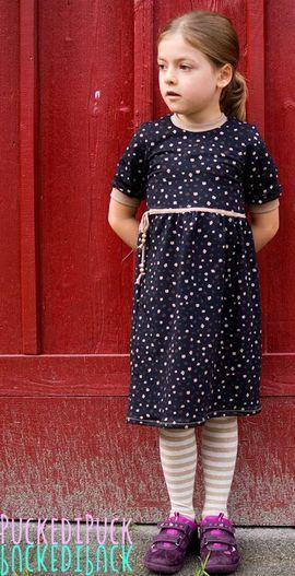 Foto zu Schnittmuster Kinderkleid Kelani von textilsucht