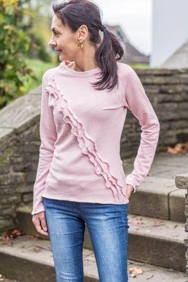Foto zu Schnittmuster Rüschenshirt Damen von textilsucht