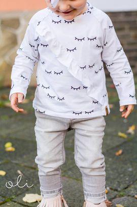 Foto zu Schnittmuster Rüschenshirt Kinder von textilsucht