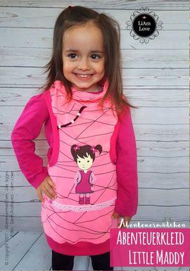 Foto zu Schnittmuster Abenteuerkleid Little Maddy von Abenteuermädchen