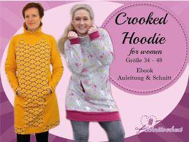Foto zu Schnittmuster Crooked Hoodie for women von Schnittverhext
