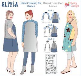 Foto zu Schnittmuster Kleid/Tunika Olivia von Mamu Design