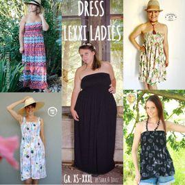Foto zu Schnittmuster Sommerkleid/Tunika Lexxi Ladies von Sara & Julez