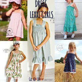 Foto zu Schnittmuster Sommerkleid/Tunika Lexxi Girls von Sara & Julez