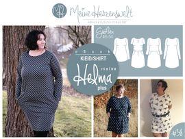 Foto zu Schnittmuster Kleid/Shirt Meine Helma plus von Meine Herzenswelt