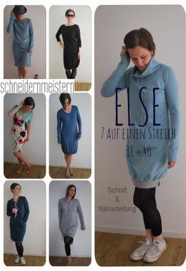 Foto zu Schnittmuster Else 38-40 von schneidernmeistern