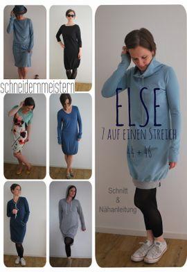 Foto zu Schnittmuster Else 44-46 von schneidernmeistern