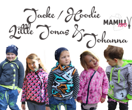 Foto zu Schnittmuster Jacke/Hoodie Little Jonas & Johanna von Mamili1910