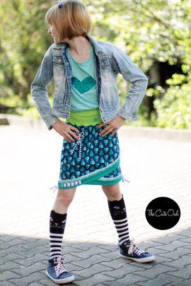 Foto zu Schnittmuster Shabby Skirt Kids von MiToSa-Kreativ