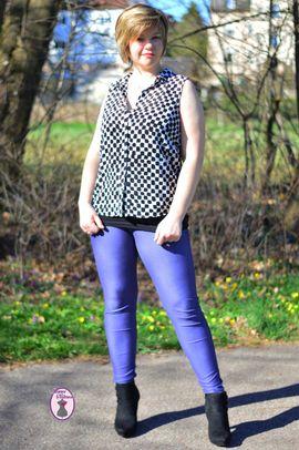 Produktfoto zu Kombi Ebook Leggings MissLeggy und MiniLeggy Nähanleitung und Schnittmuster  von NaehCram