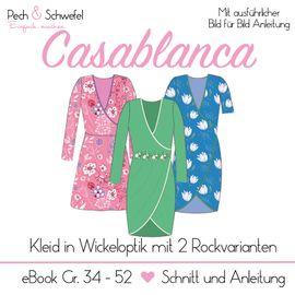 Foto zu Schnittmuster Kleid Casablanca von Pech & Schwefel