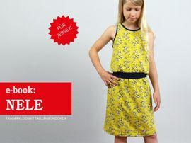 Produktfoto zu Kombi Ebook FRAU NELE & NELE Trägerkleider im Partlerlook von Anja // STUDIO SCHNITTREIF
