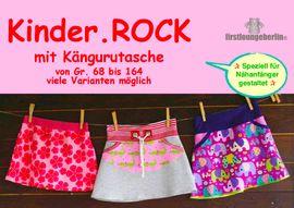 Foto zu Schnittmuster Kinder.ROCK mit Kängurutasche von Firstlounge Berlin