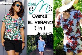 Foto zu Schnittmuster Overall El Verano von drei eMs