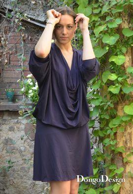 Foto zu Schnittmuster Easy-Jerseykleid Fledermaus von DongoDesign