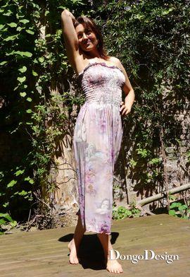 Foto zu Schnittmuster Easy-Jersey-Strandkleid von DongoDesign