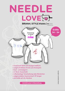Produktfoto zu Kombi Ebook BRIANA und MEA von {NEEDLE LOVE}