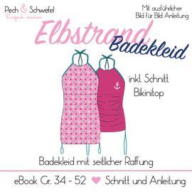 Foto zu Schnittmuster Elbstrand Badekleid von Pech & Schwefel