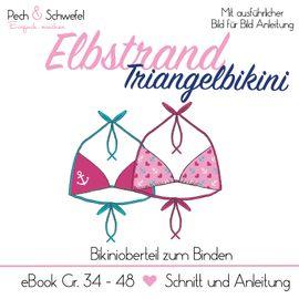 Foto zu Schnittmuster Elbstrand Triangelbikini von Pech & Schwefel
