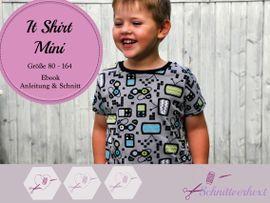 Produktfoto zu Kombi Ebook   It Dress & It Shirt Mini von Schnittverhext