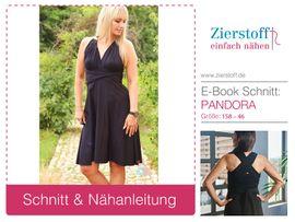 Foto zu Schnittmuster Kleid Pandora 158-46 von Zierstoff