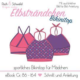 Foto zu Schnittmuster Elbsträndchen Bikinitop von Pech & Schwefel
