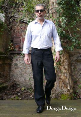 Foto zu Schnittmuster 4-Pocket-Jeans von DongoDesign
