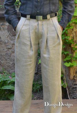 Foto zu Schnittmuster Bundfaltenhose von DongoDesign