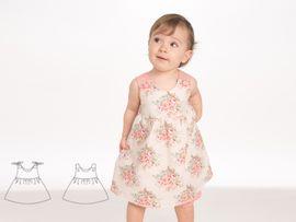 Produktfoto zu Kombi Ebook Clara und Emi Kleid und Pumphose von mail(at)alessia-altimari.com
