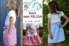 Foto zu Schnittmuster Rock mini Felisa von drei eMs