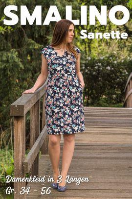 Foto zu Schnittmuster Damen-Kleid Sanette von Smalino