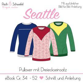 Foto zu Schnittmuster Pullover Seattle von Pech & Schwefel