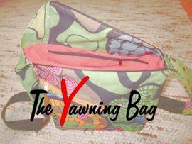 Foto zu Schnittmuster The Yawning Bag von RUND und ECKIG