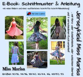 Foto zu Schnittmuster Jerseykleid Miss Marisa von My Little Ladybird