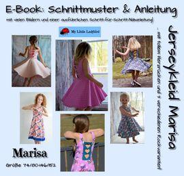 Foto zu Schnittmuster Jerseykleid Marisa von My Little Ladybird