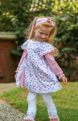Foto zu Schnittmuster Kleid Gretchen von Mini & Me Patterns