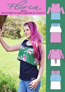Produktfoto zu Kombi Ebook Kombi-Ebook Floria Girls + Floria Damen von Rosalieb & Wildblau